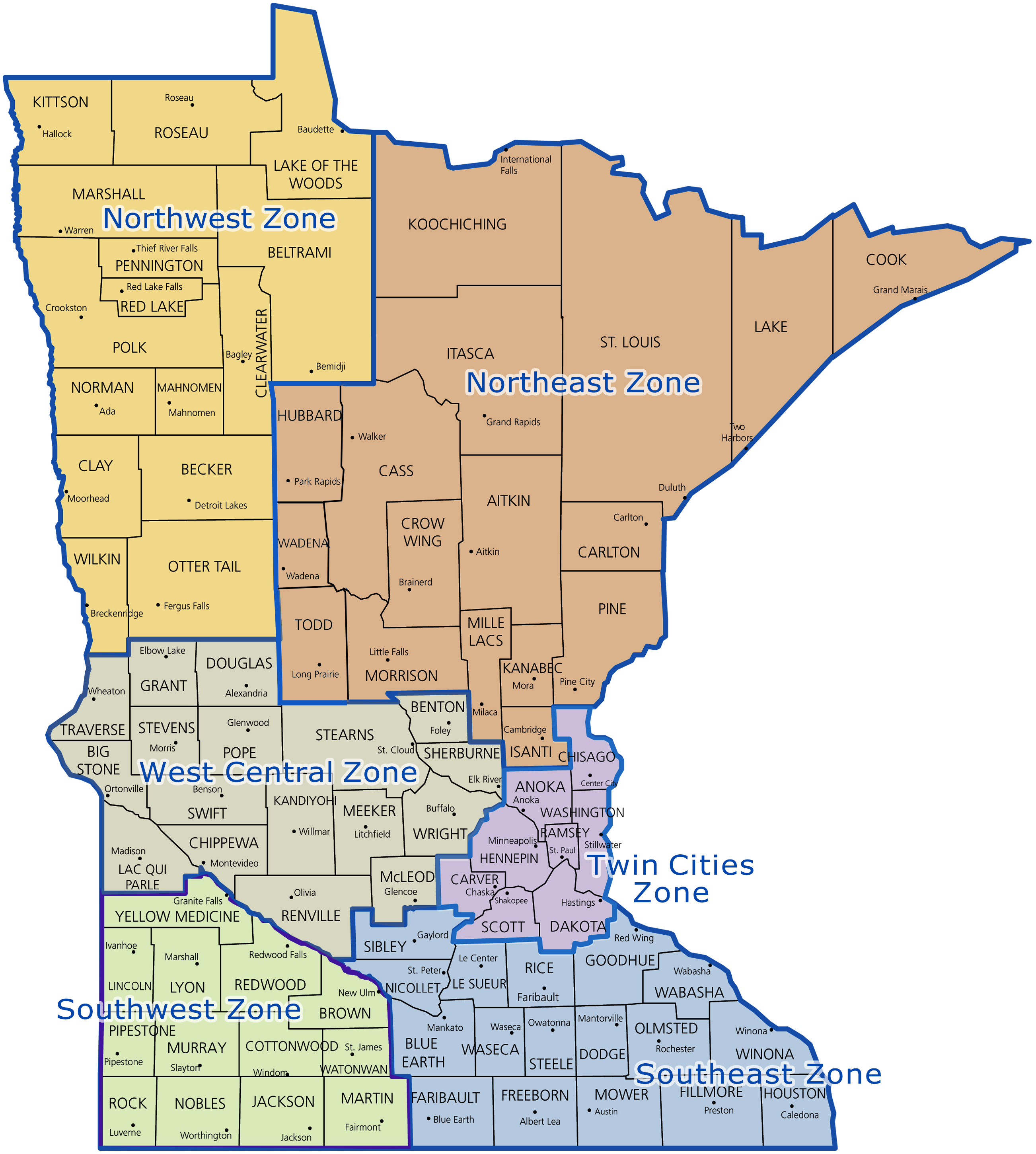 Minnesota Electric Transmission Planning - Us-electric-utility-map